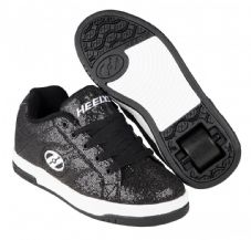 Heelys Split Black Disco Glitter